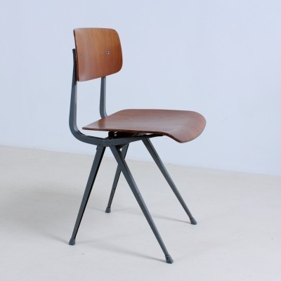 4 Result 1st Edition dinner chairs from the fifties by Friso Kramer & Wim Rietveld for Ahrend de Cirkel