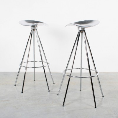 Pair of Jamaica stools by Pepe Cortès for AMAT 3, 1990s