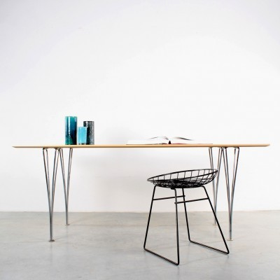 Dining table by Piet Hein & Arne Jacobsen for Fritz Hansen, 1960s