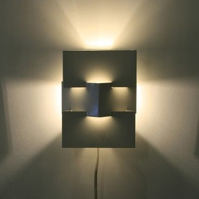 2 wall lamps by J. Hoogervorst for unknown producer