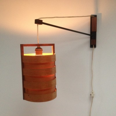 Wall lamp from the fifties by Hans Agne Jakobsson for unknown producer