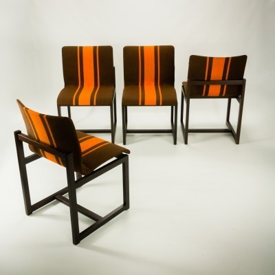 2 x Thereca dining chair, 1970s