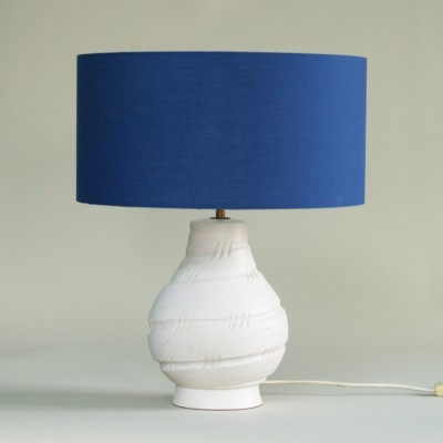 Desk lamp by Pol Chambost for Poterie Pol Chambost, 1940s