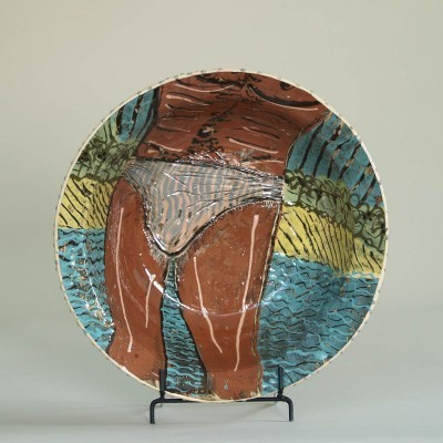 Large Bowl from the nineties by Lincoln Kirby Bell for Lincoln Kirby Bell