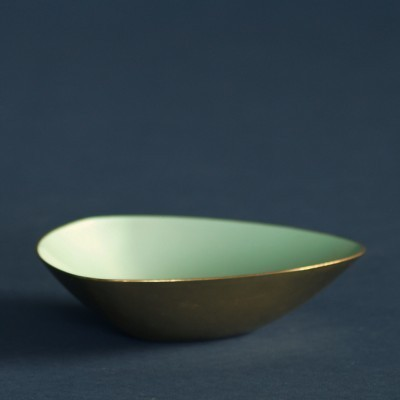 Bowl by Gunnar Ander for Ystad Metall, 1950s
