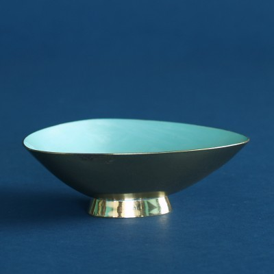 Bowl from the fifties by Gunnar Ander for Ystad Metall