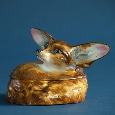 Fennec (grand Modèle) Box by Edouard Marcel Sandoz for Theodore Haviland Limoges, 1920s