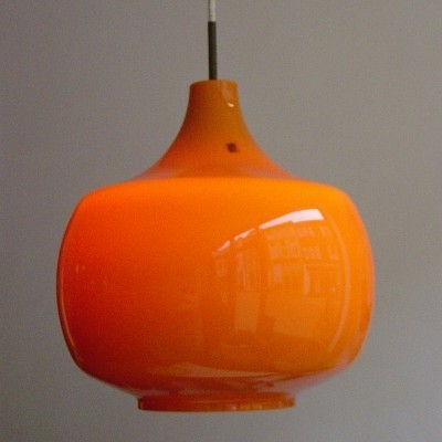 2 Union hanging lamps from the sixties by Paolo Venini for Venini