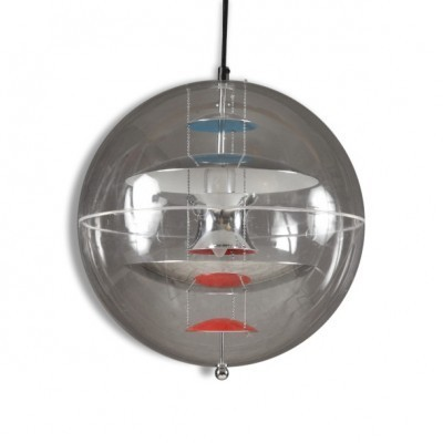 VP Globe hanging lamp from the nineties by Verner Panton for VerPan