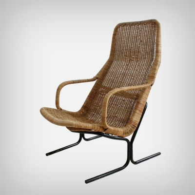 Model 514 lounge chair from the sixties by Dirk van Sliedregt for Rohé Noordwolde