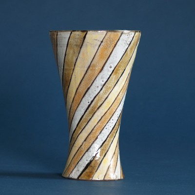 Vase by Robert Perot & Atelier Du Vieux Moulin for Vallauris, 1950s