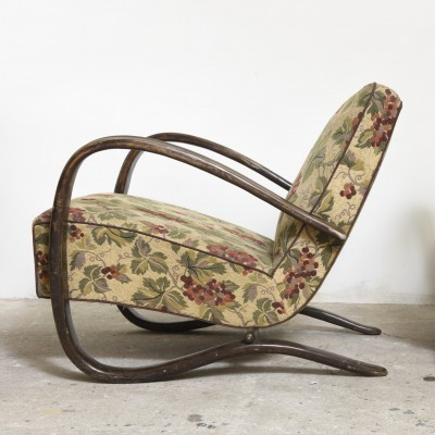 Set of 2 lounge chairs from the twenties by Jindřich Halabala for unknown producer
