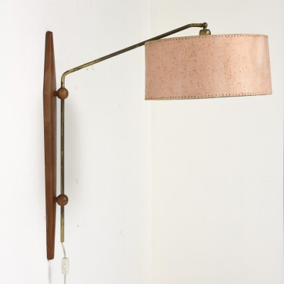 Adjustable 1950s Wall Fixture Made in Denmark