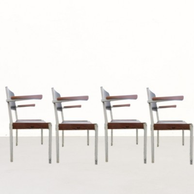 30 dinner chairs from the sixties by unknown designer for Gispen