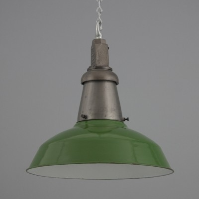 Industrial pendant lighting by Wardle, 1940s