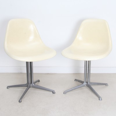 2 x Side Chair La Fonda dining chair by Charles & Ray Eames for Herman Miller, 1960s