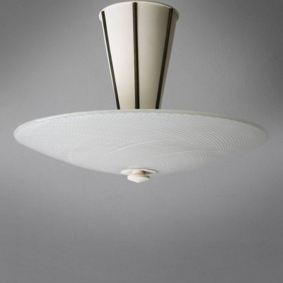 Ceiling lamp by Tomaso Buzzi for Murano, 1950s