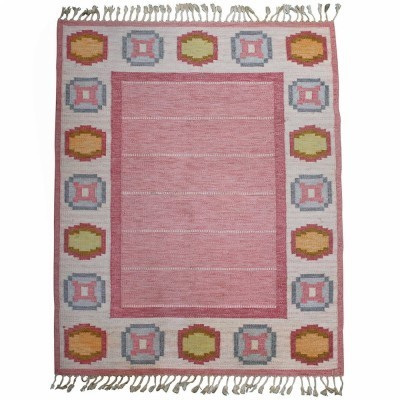 Rug from the fifties by Ingegerd Silow for unknown producer