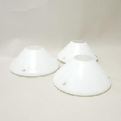 3 x Linz wall lamp by Vico Magistretti for Oluce, 1970s