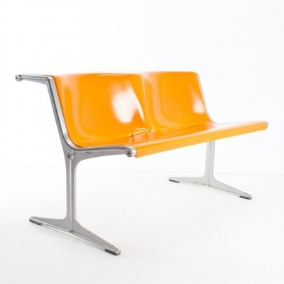 1200/2 bench from the sixties by Friso Kramer for Wilkhahn