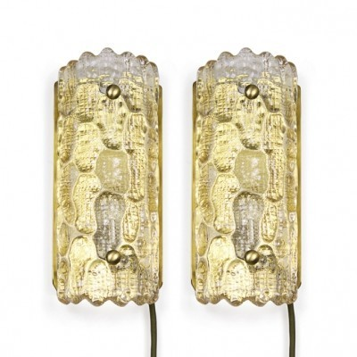 Pair of Lyfa wall lamps, 1960s