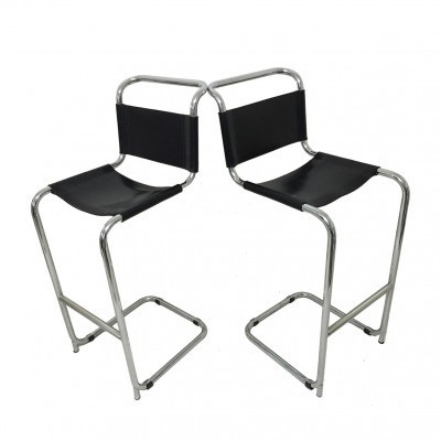 Pair of Mart Stam stools, 1940s