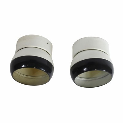 Set of 2 ceiling lamps from the sixties by Josef Hůrka for Napako