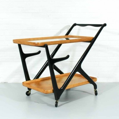 Serving trolley by Cesare Lacca for Cassina
