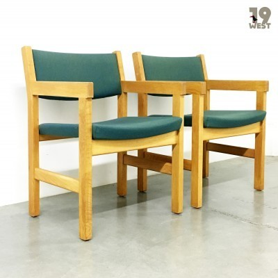 2 arm chairs from the seventies by Hans Wegner for Getama