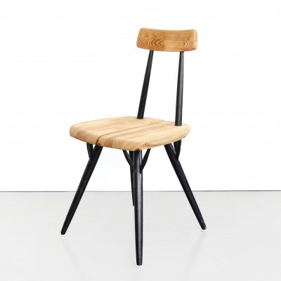 Pirkka dining chair by Ilmari Tapiovaara for Laukaan Puu Finnland, 1950s