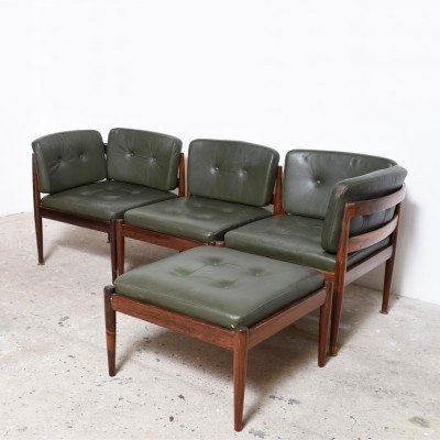 4 seating groups from the sixties by Kai Kristiansen for Magnus Olesen