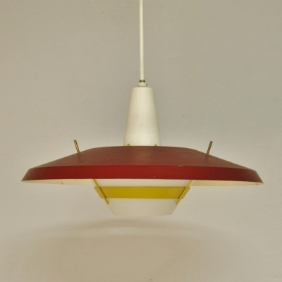 NT25 E/00 hanging lamp from the fifties by Louis Kalff for Philips