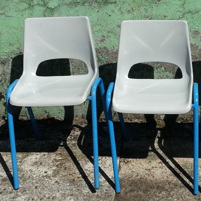 Children furniture from the sixties by unknown designer for Fabrication Hb