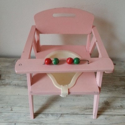 Pot Chair children furniture from the fifties by unknown designer for unknown producer