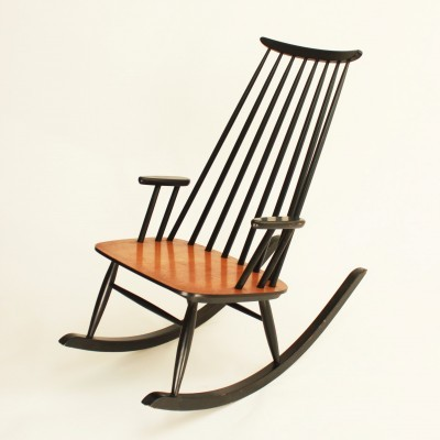 Rocking chair from the sixties by Varjosen Puunjalostus for Uusikylä