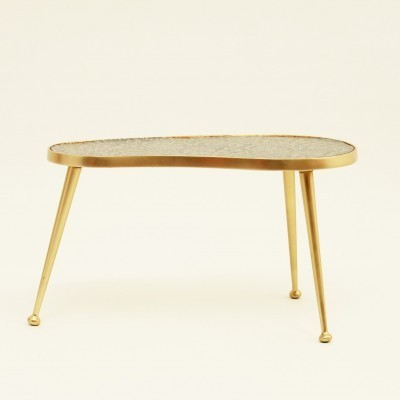 Kidney side table from the sixties by unknown designer for unknown producer