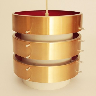 Hanging lamp from the seventies by unknown designer for Drupol