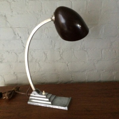 Desk lamp from the thirties by unknown designer for Erpe