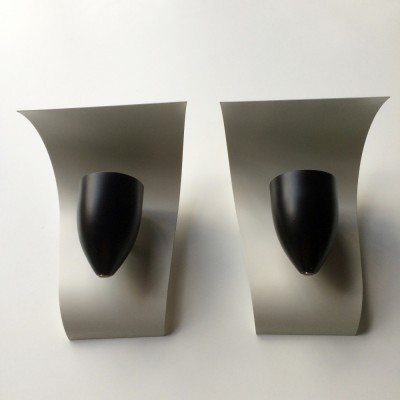 Set of 2 wall lamps from the fifties by unknown designer for Arredoluce