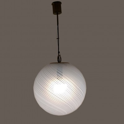 Hanging lamp from the fifties by unknown designer for Venini