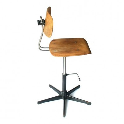 Office chair from the eighties by unknown designer for unknown producer
