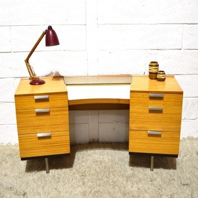 Fineline writing desk by John & Sylvia Reid for Stag, 1950s