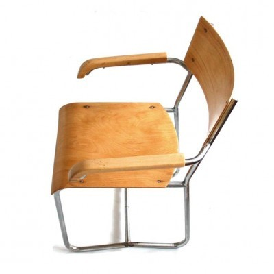 Dinner chair from the fifties by unknown designer for Vichr A Spol