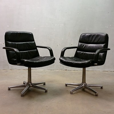 F978 office chair from the sixties by Geoffrey Harcourt for Artifort