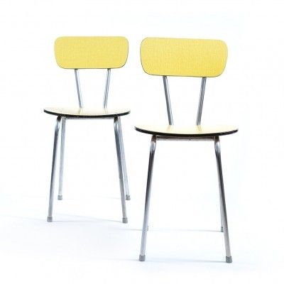 2 dinner chairs from the sixties by unknown designer for Kovona NP