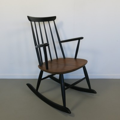 Rocking chair from the sixties by Ilmari Tapiovaara for unknown producer