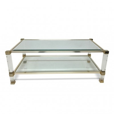 Coffee table from the seventies by Pierre Vandel for unknown producer