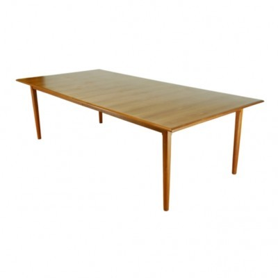 Conference dining table from the sixties by unknown designer for unknown producer