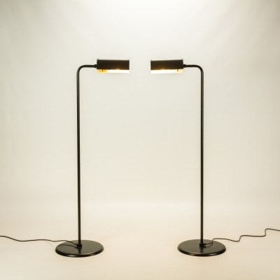 Pair of Abo Randers floor lamps, 1970s