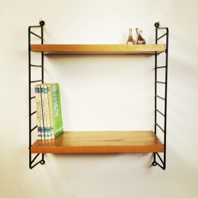 Wall unit from the fifties by Nisse Strinning for String Design AB